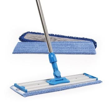 "18"" microfiber hardwood broom"