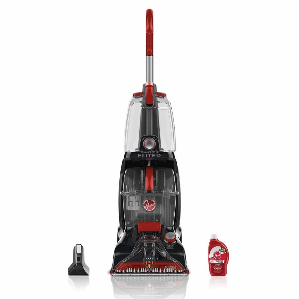The best hardwood floor steamer cleaner 2017 hoover fh50251pc power scrub elite dailygadgetfo Images