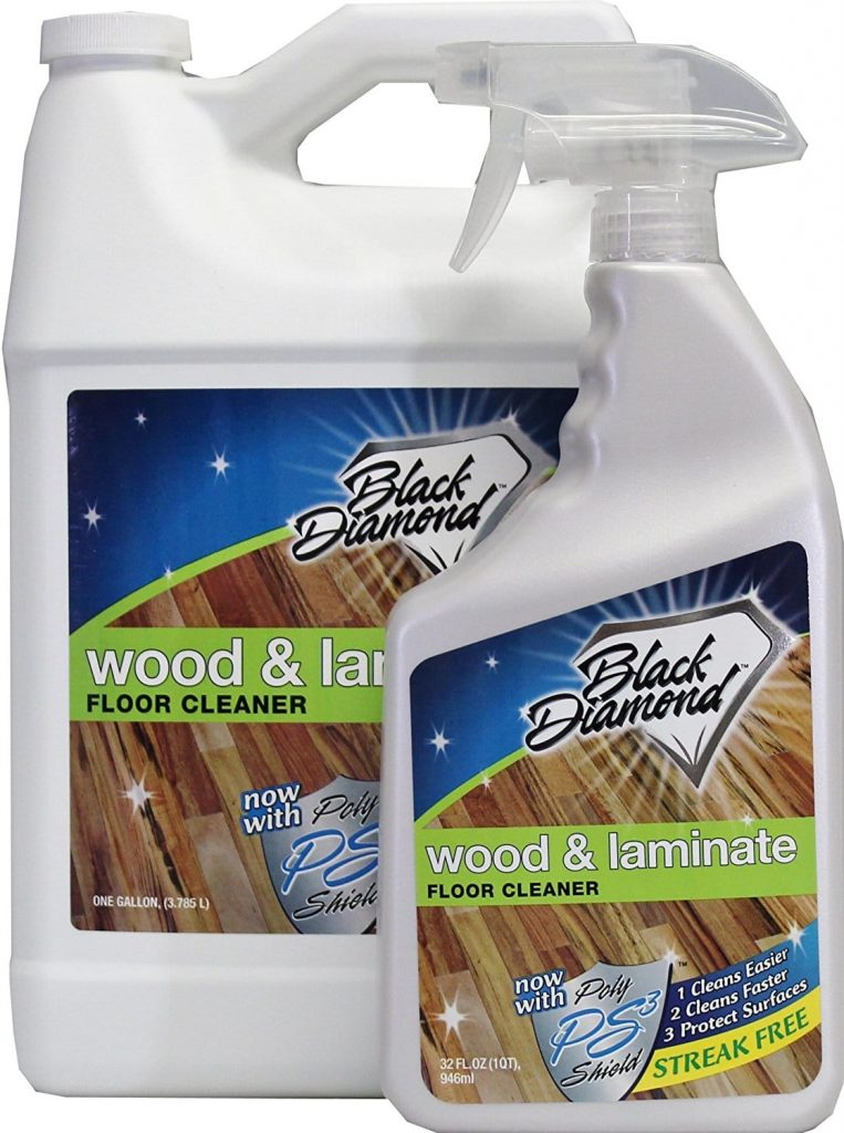 black diamond hardwood floor cleaner