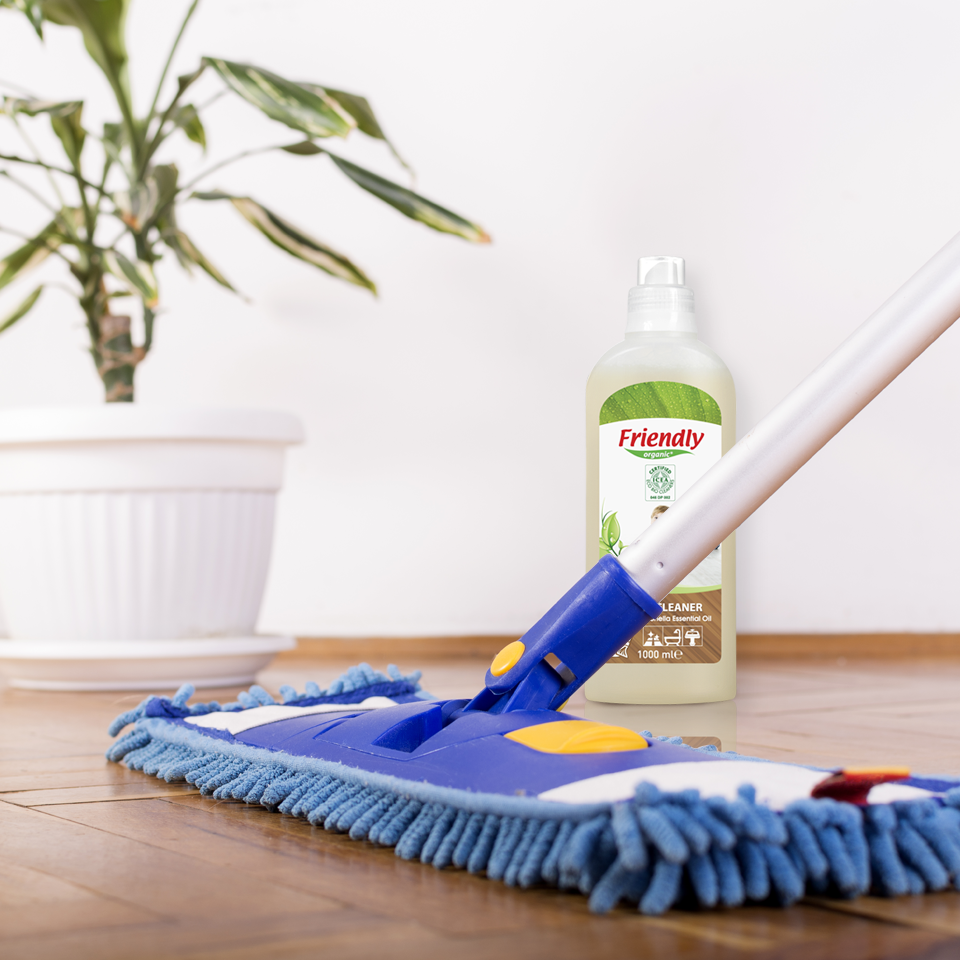 organic floor cleaner